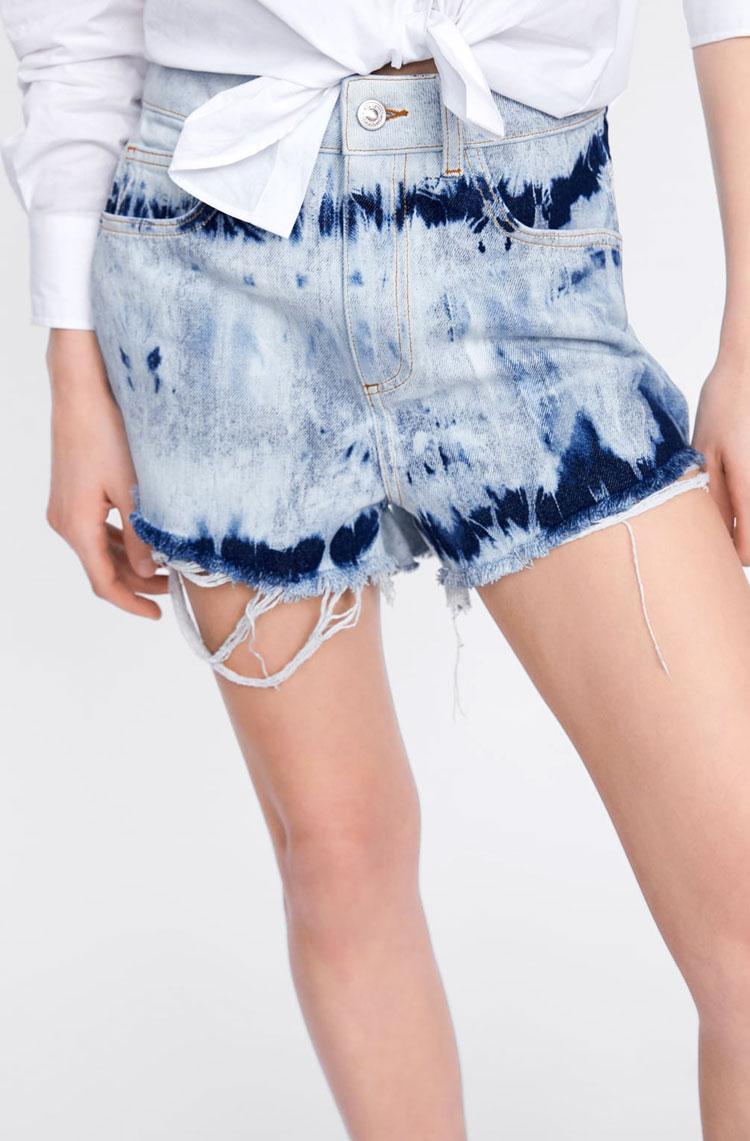 Zara Tie-Dye Shorts  $29.90