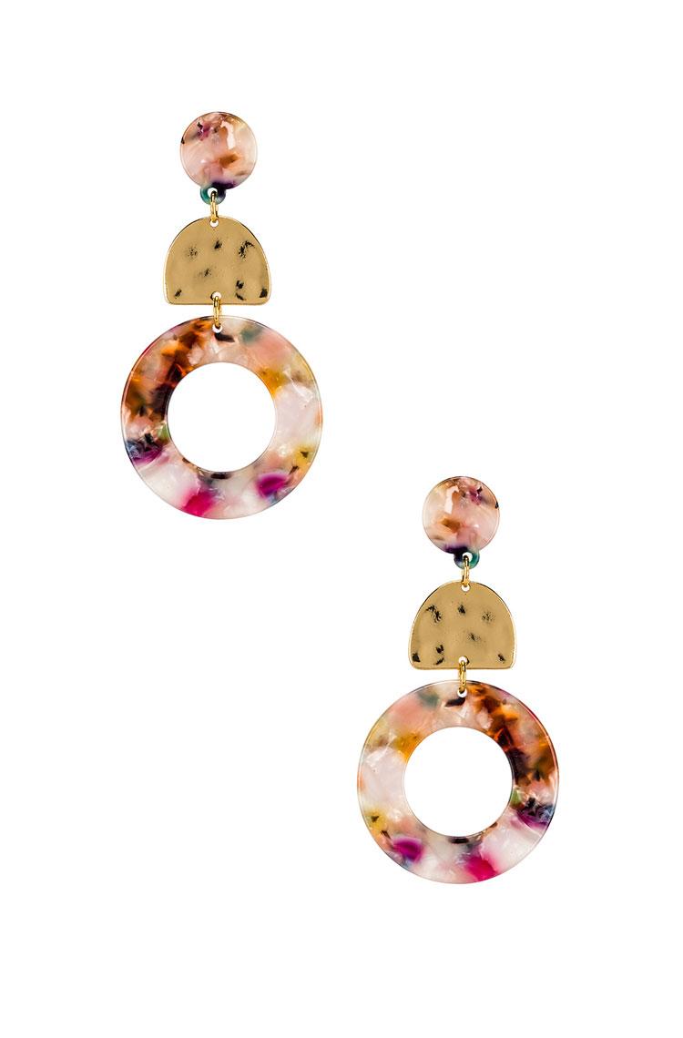 Ettika Tie-Dye Earrings  $35