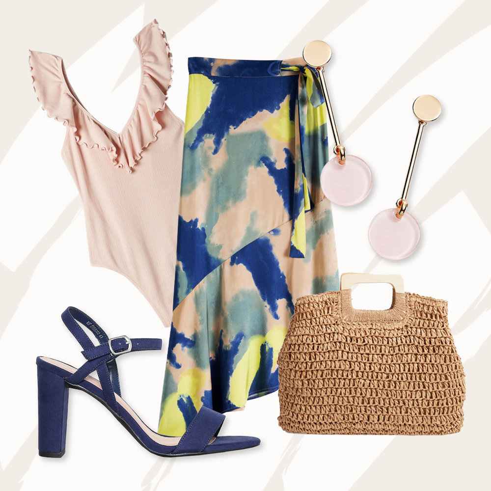 Hippie Chic - Take your look back decades but with a fresh twist.