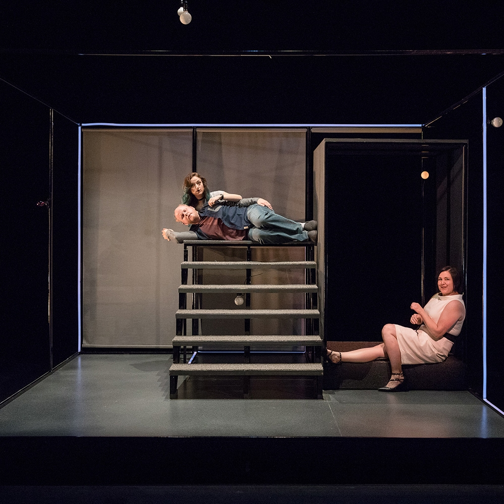 You Are Happy - by Rébecca DéraspeSept 21–Oct 8, 2017Determined to help her brother find some kind of happiness, Bridget searches grocery stores looking for his potential wife. A dark comedy about millennial love, sibling loyalty, conformity and an uncomfortably close shave.Learn More