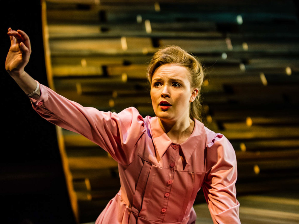 Gracie - by Joan MacLeodApr 24–May 13, 2018Gracie's world is full of faith and family, but as a fifteen year-old in a polygamous community, she feels increasing pressure to conform. With deep empathy and compassion, the playwright takes us into young Gracie's world, where we discover what it's like to grow up in an uncommon environment.Learn More
