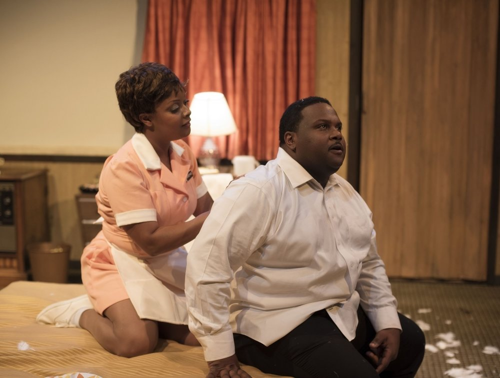 the mountaintop - by Katori HallJan 22–Feb 10, 2019After delivering one of his most memorable speeches, an exhausted Dr. Martin Luther King retires to his motel amidst a raging thunderstorm. When a mysterious maid arrives at his door, political discussion ensues and Dr. King is forced to confront his legacy in a poetic reimagining of the events taking place on the night before his assassination.Learn More BUY TICKETS