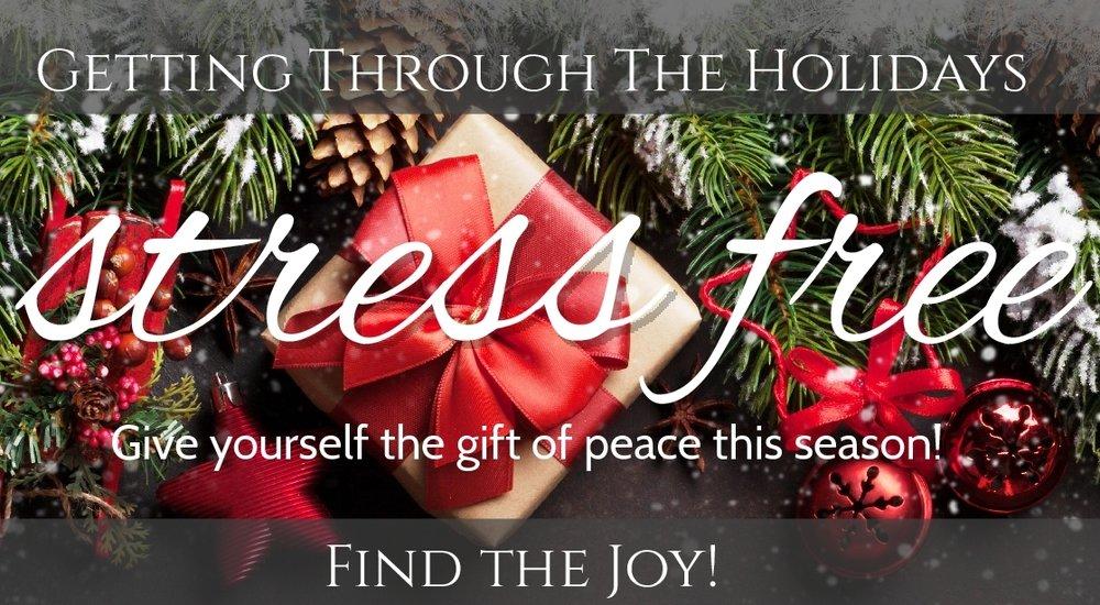 Stress Free Holiday Workshop