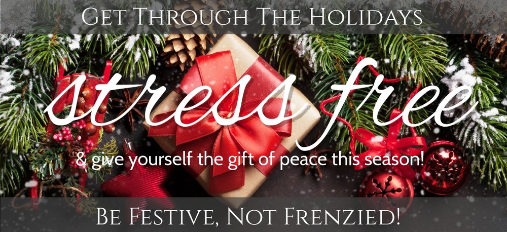 STRESS-FREE HOLIDAY WORKSHOP - SATURDAY, NOVEMBER 109:30AM - 11:00AMJoin us for a complimentary workshop to learn stress-less techniques to help you embrace the magic of the holidays.Refreshments will be served.