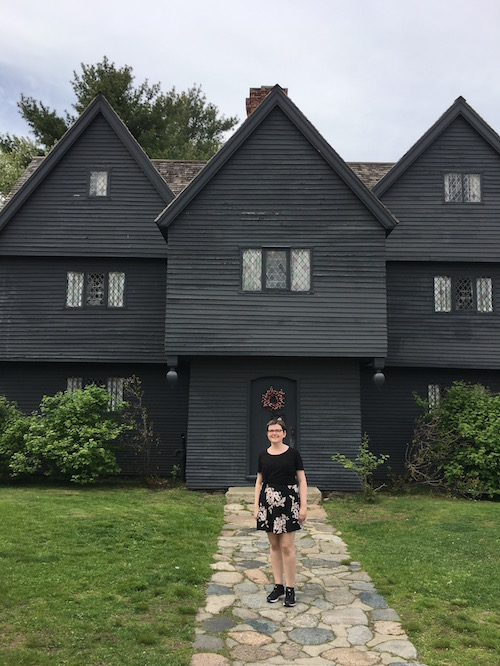 The Witch House - 17th century. Salem, MA.
