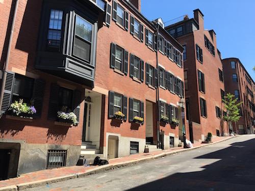 Beacon Hill in Boston.