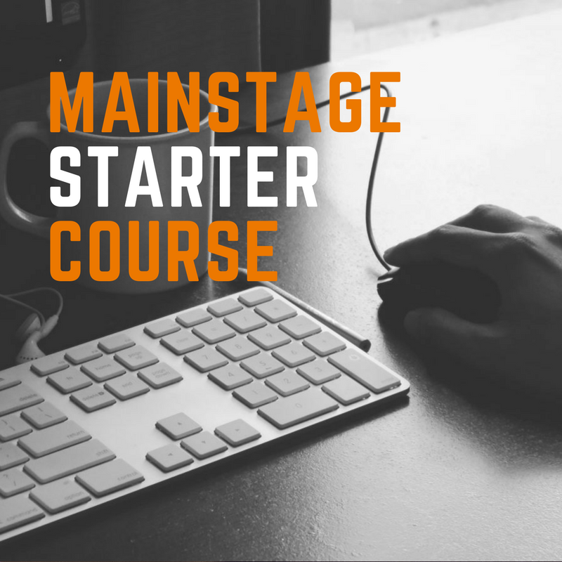 Free Intro to MainStage Course -