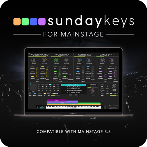 Sunday Keys Mainstage Template For Worship Keys Mainstage Patches