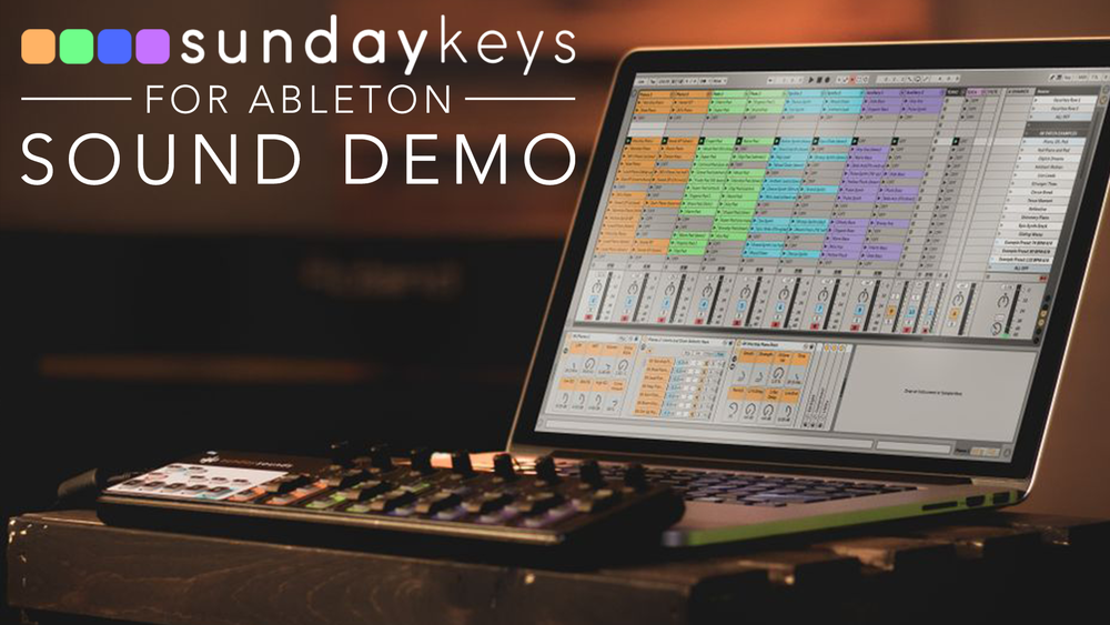 Sunday Keys for Ableton Live- How Does It Sound? — MainStage Patches