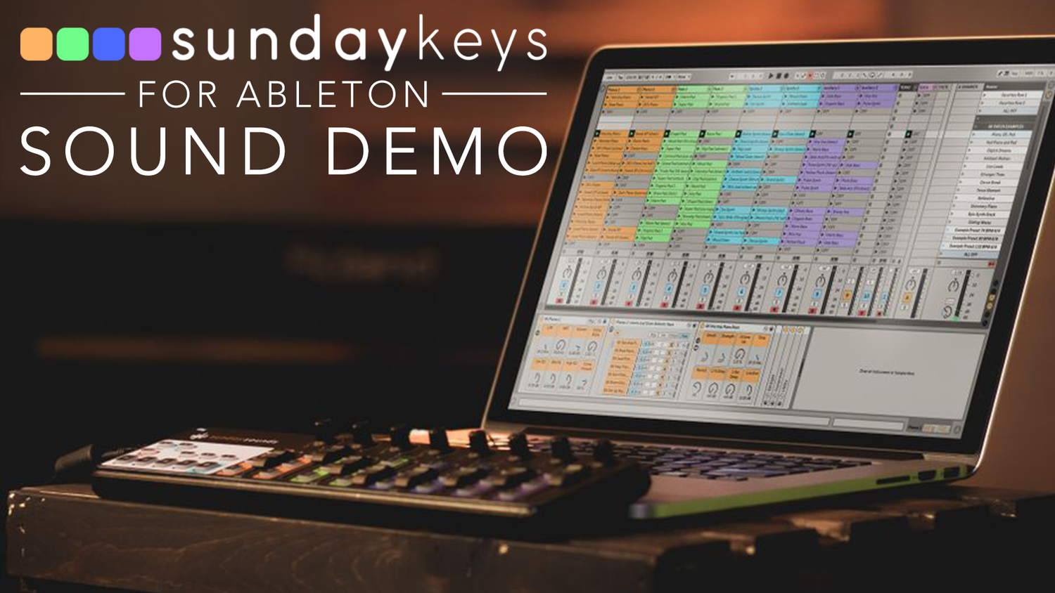 Sunday Keys for Ableton Live- How Does It Sound? — MainStage
