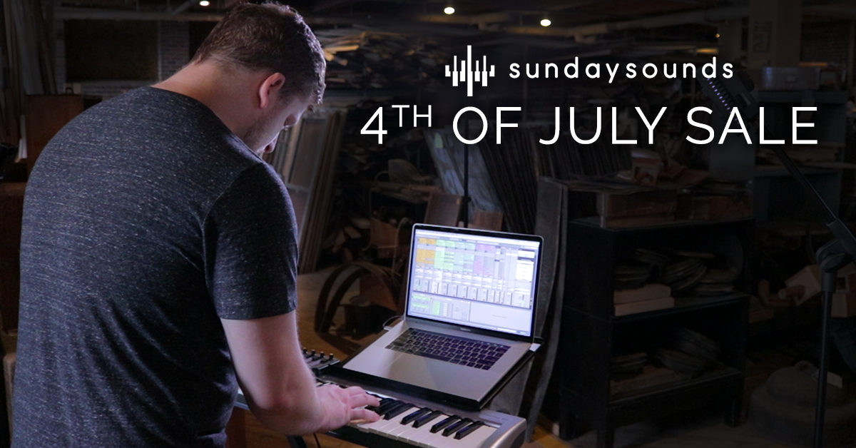 4th of July Sale! — MainStage Patches and Templates from