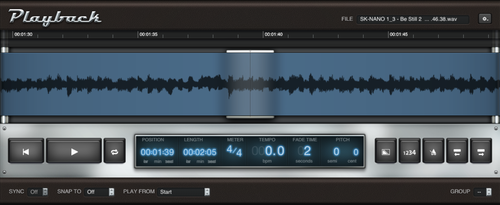 MainStage's Playback Plugin — MainStage Patches and