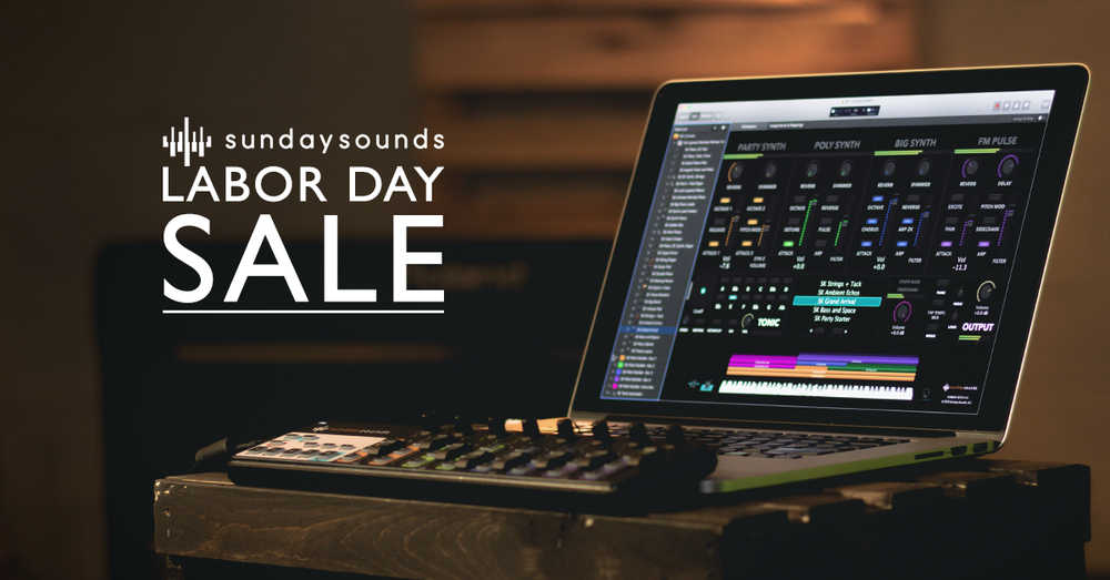 Labor Day Sale! — MainStage Patches and Templates from Sunday Sounds