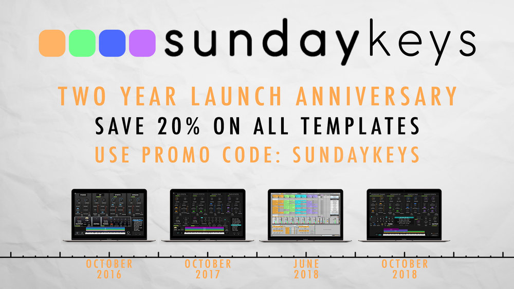 MainStage Anniversary Sale — Blog — MainStage Patches and Templates