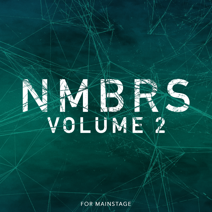 Numbers Vol 2: Analog Sampled Worship Patches for MainStage 3 and Logic Pro  — MainStage Patches and Templates from Sunday Sounds