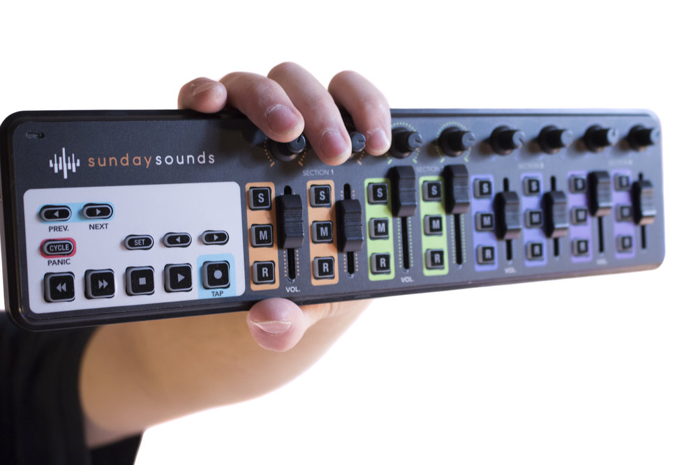 Custom nanoKontrol2 skin - Never grab the wrong fader or knob again with our high-quality nanoKontrol2 skin.Color-coded and designed for Sunday Keys for MainStage and Ableton.