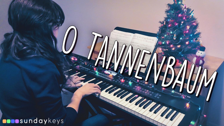 O Tannenbaum Piano.O Tannenbaum Sunday Keys Worship Piano Patch Demo Mainstage