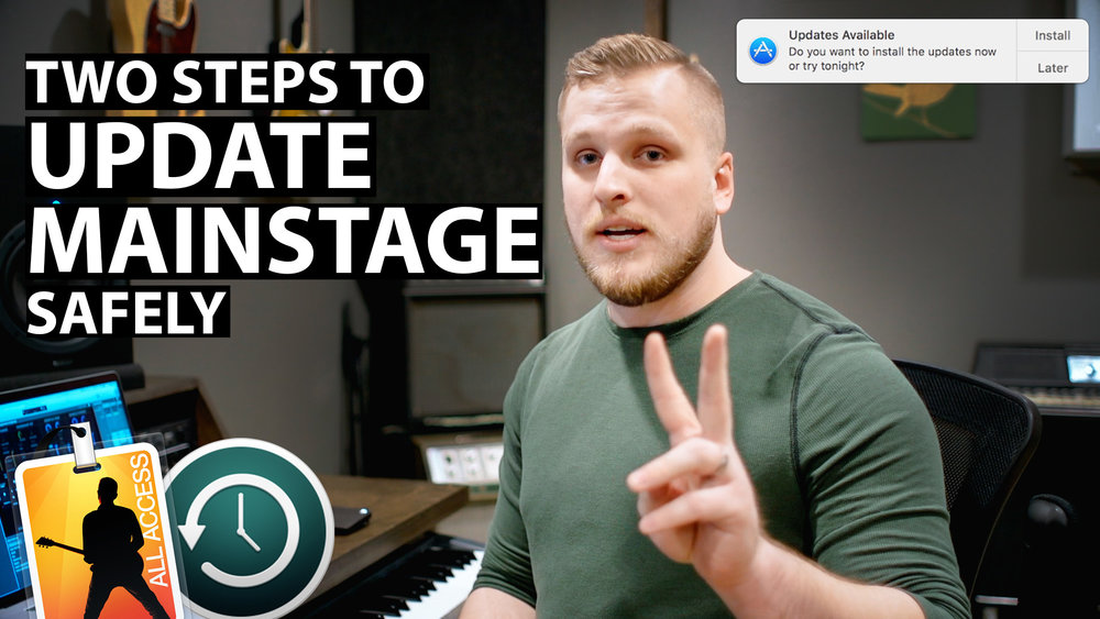 MainStage Tutorials — MainStage Patches and Templates from