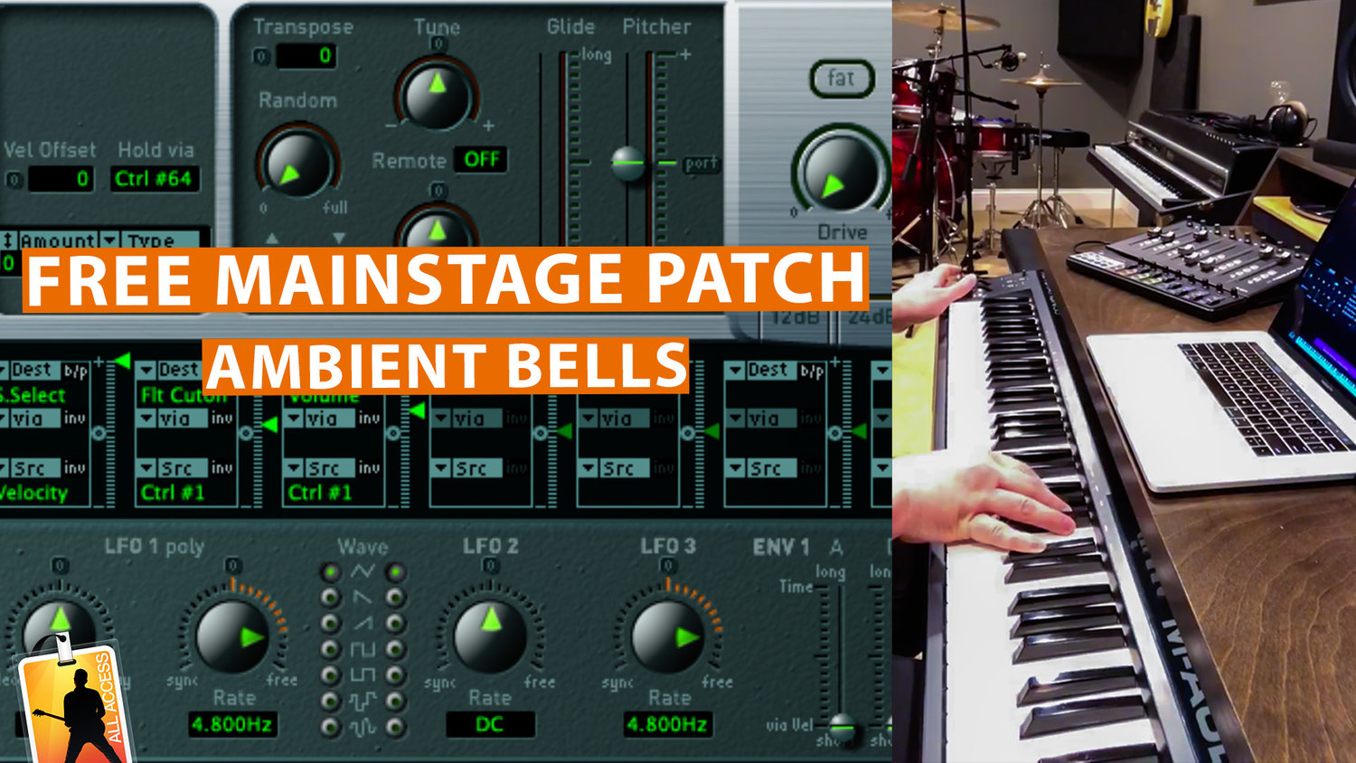 Free MainStage Worship Patch! - Maristell Ambience — MainStage