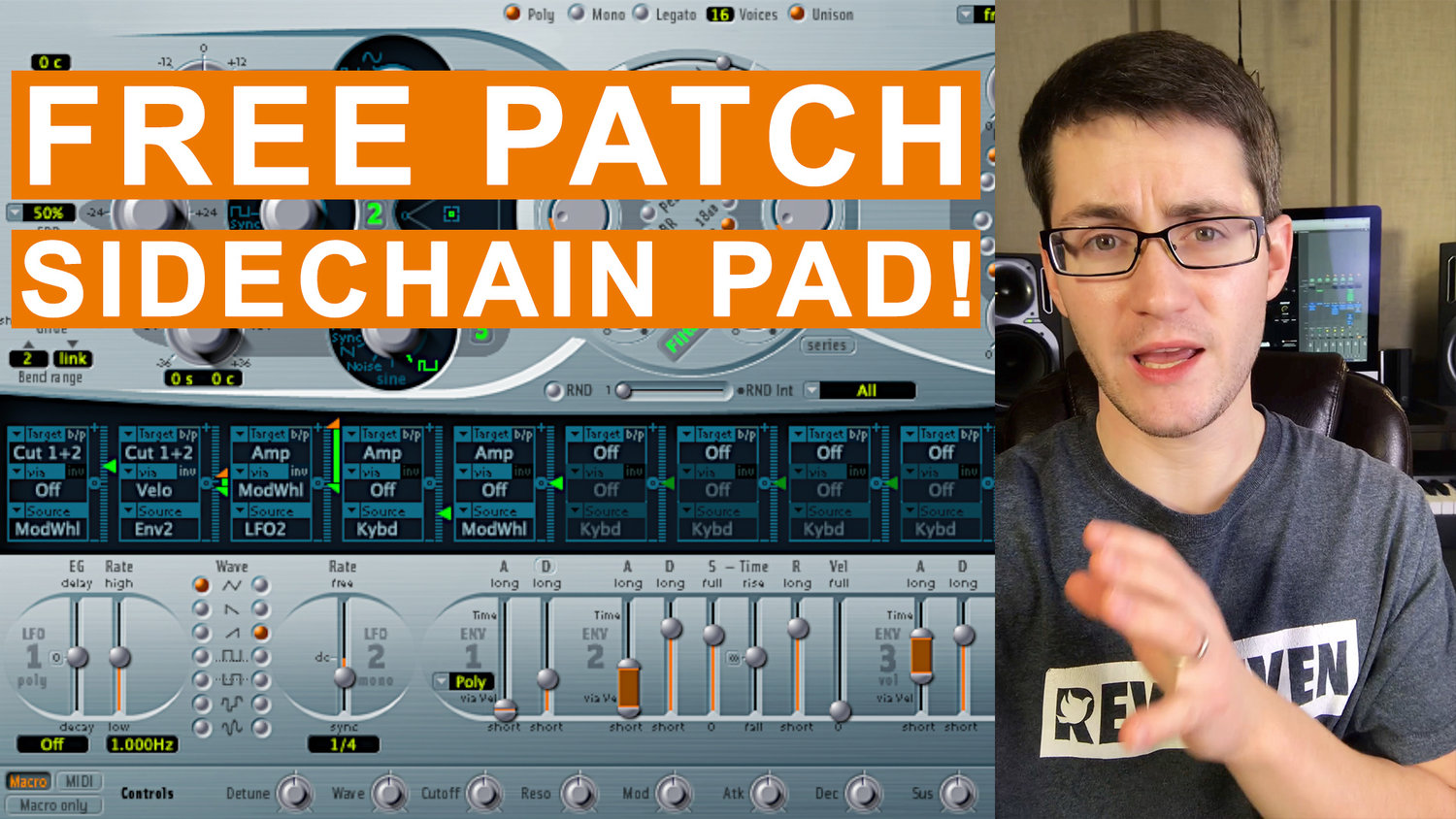 Free MainStage Worship Patch! - Crisp Sidechain — MainStage Patches