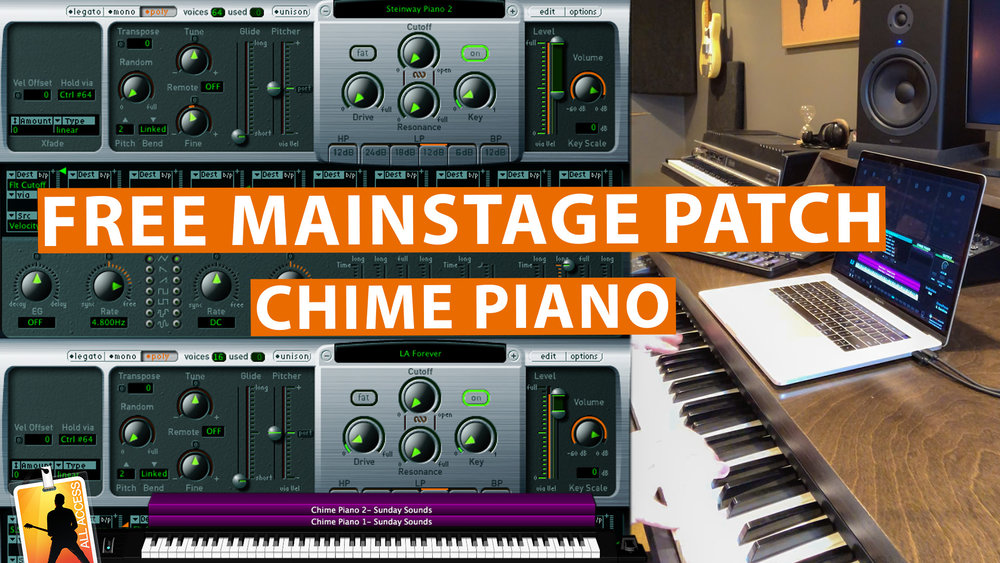 analog pad — Blog — MainStage Patches and Templates from