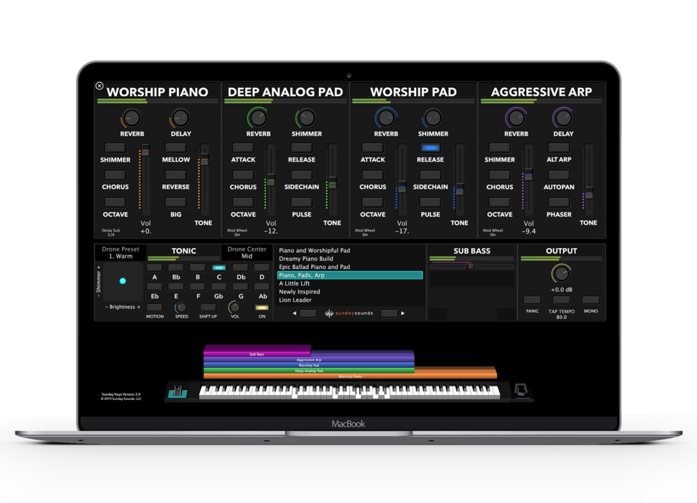 FREE MAINSTAGE PATCHES - These 30 free MainStage worship patches are designed for modern worship music and 100% free.Subscribe via the form to receive your free patches!