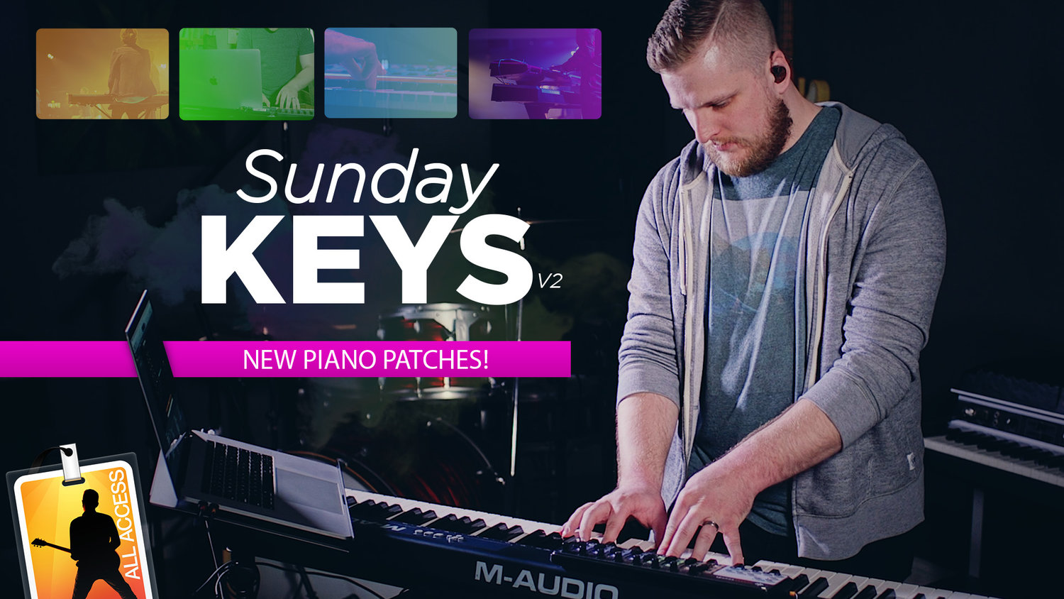 New Piano Patches in Sunday Keys Version 2! — MainStage