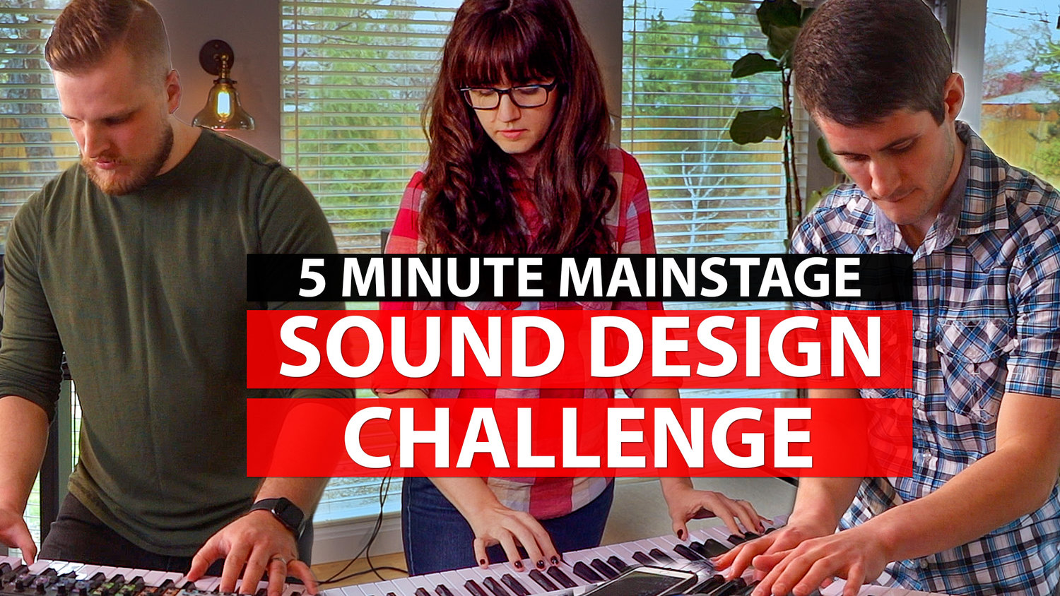Create a MainStage Worship Patch in 5 Minutes Challenge