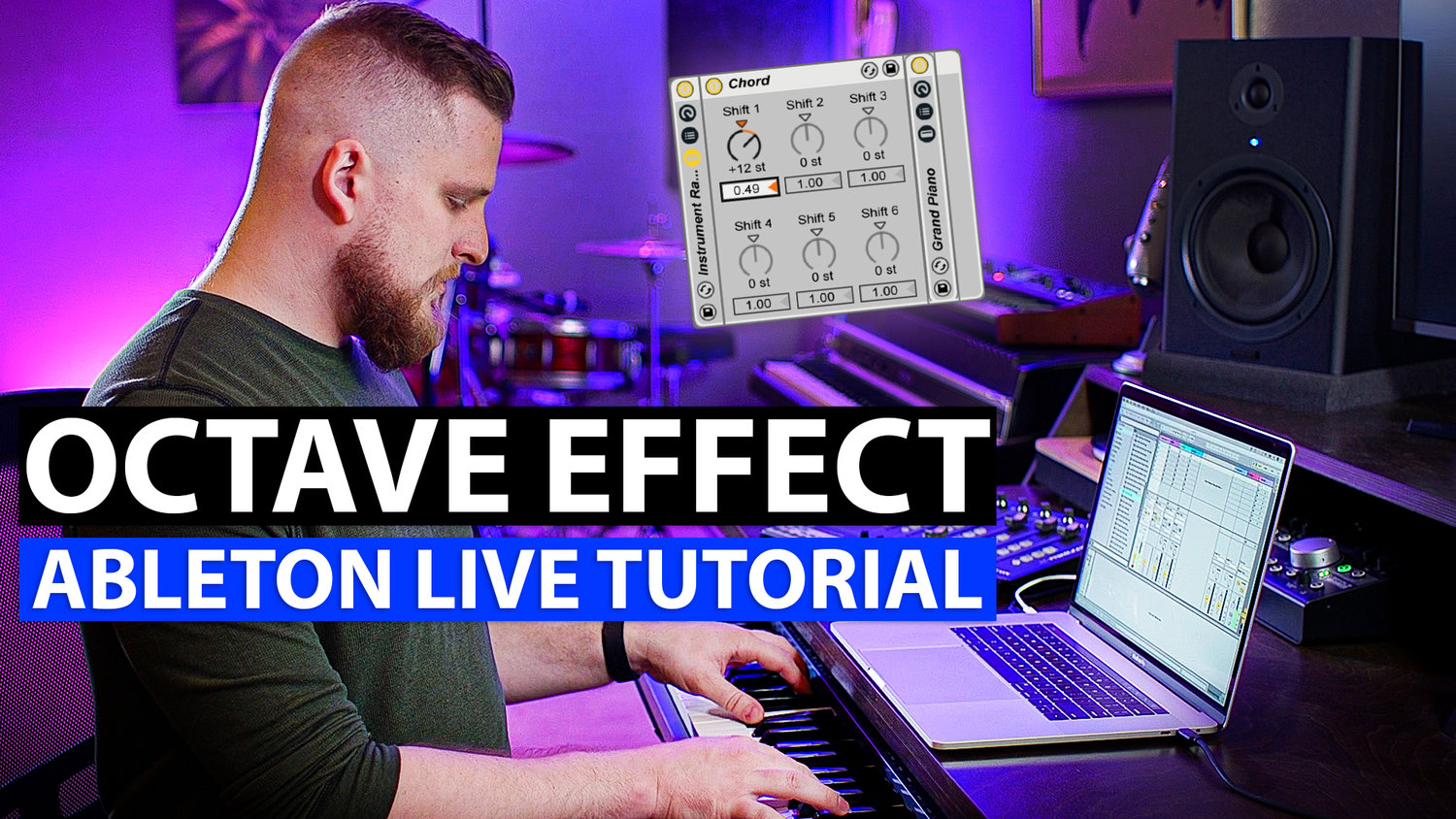 Ableton Live Tutorial: Add an Octave Effect — MainStage
