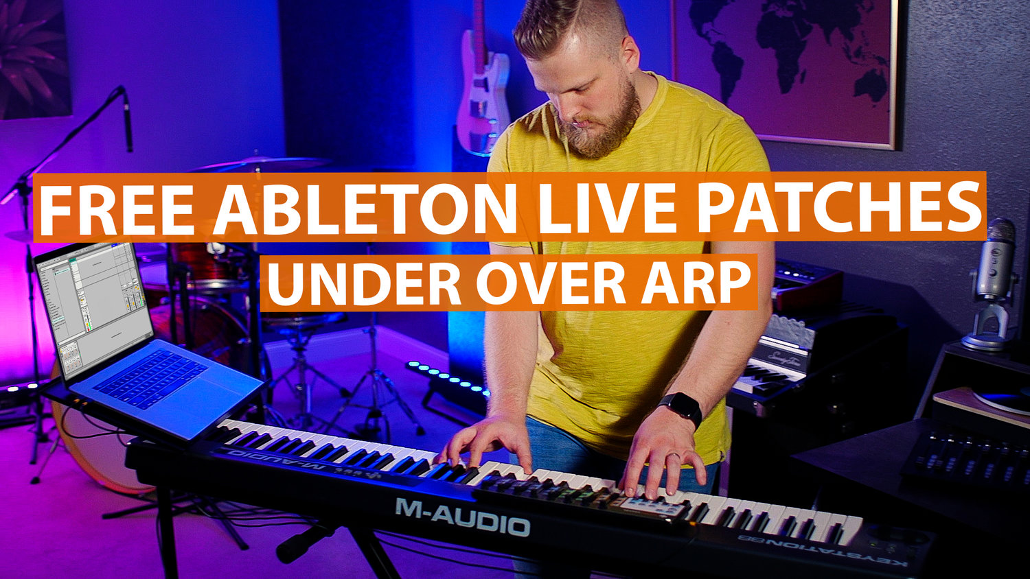 Free Ableton Worship Patch! - Under Over Arp — MainStage