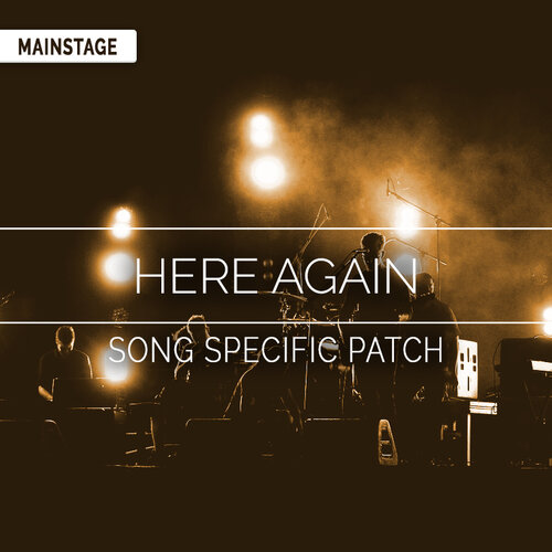 Oceans Mainstage Patch Hillsong United Mainstage Patches And