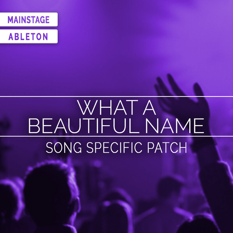 Worship Beats Vol 1- Sunday Keys Expansion — MainStage Patches and  Templates from Sunday Sounds