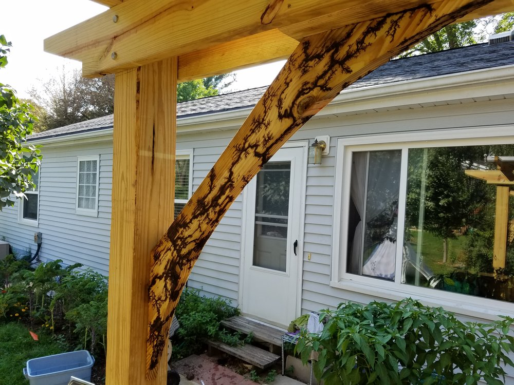 Outdoor Pergola Supports