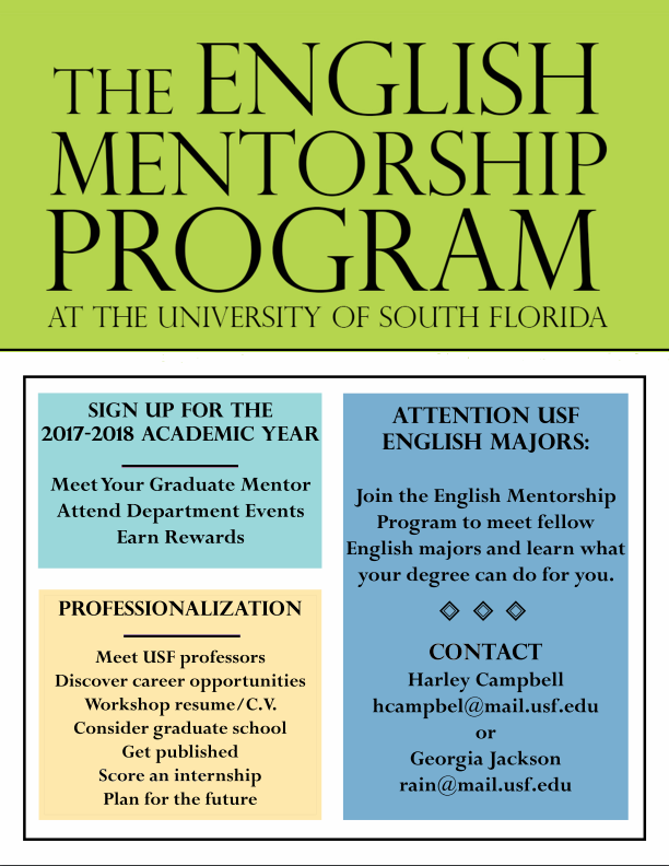 The English Mentorship Program at the University of South Florida | FLIER
