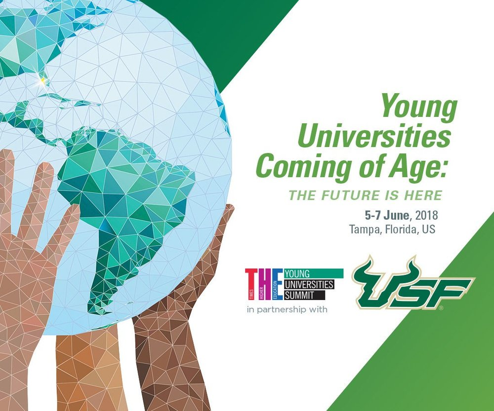 USF Selected as the First North American University to Host Prestigious Academic Summit |   PRESS RELEASE   The U.K.-based Times Higher Education (THE) will partner with the University of South Florida (USF) to hold its annual Young Universities Summit in Tampa, June 5-7. Previously held in Barcelona, Spain and Brisbane, Australia, among other international cities, this year's three-day event marks the first time a university in North America will host the summit.