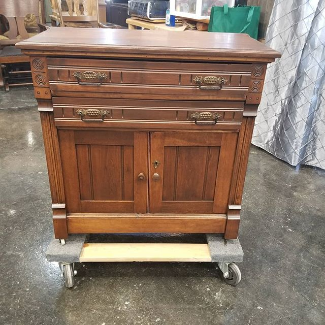 100+ Year Old Commode We Recently Restored.