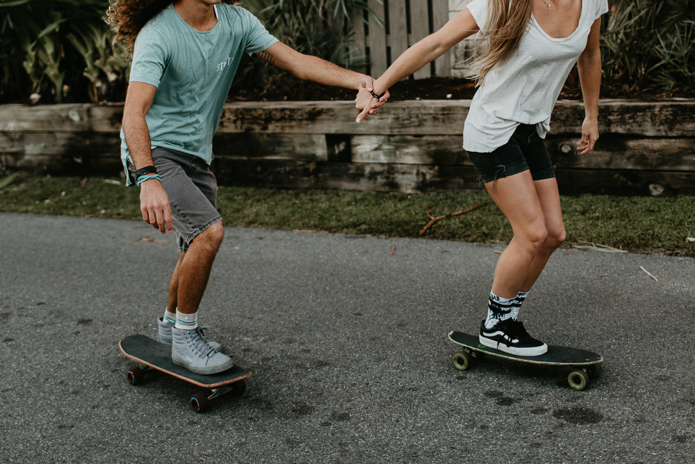 CLAIRE + ANTHONYSKATER COUPLE SESSION -