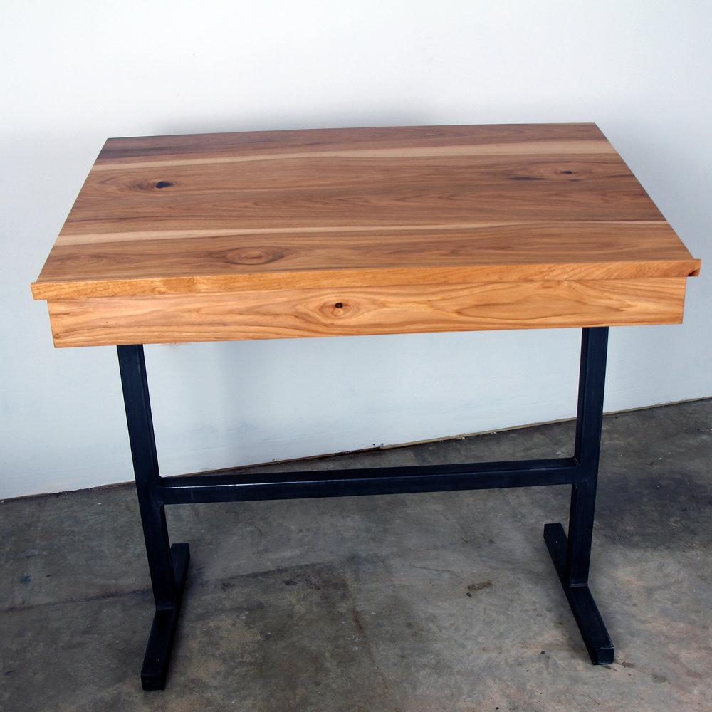 Pecan Standup Desk