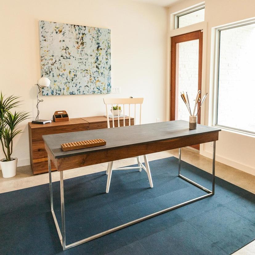 Phenolic Walnut Stainless Desk for Making Modern Homes