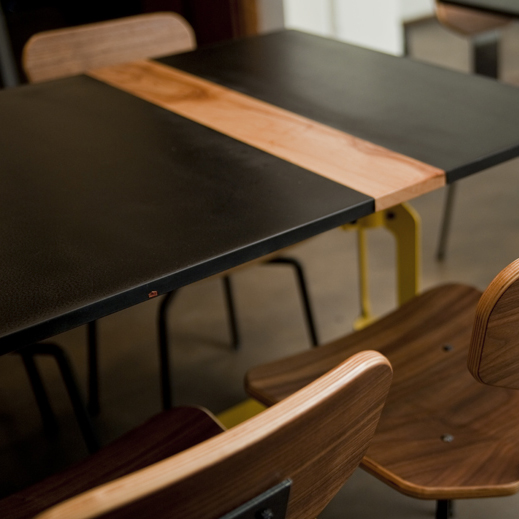Phenolic & Pecan Cafe Table for Brew & Brew