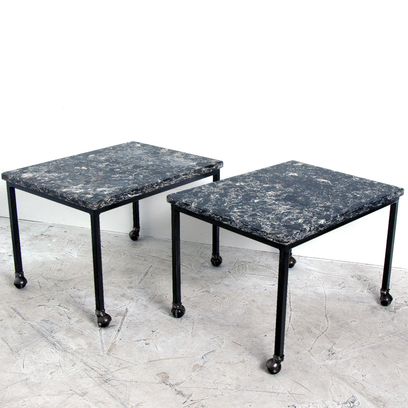 Quartz Rolling Coffee Table