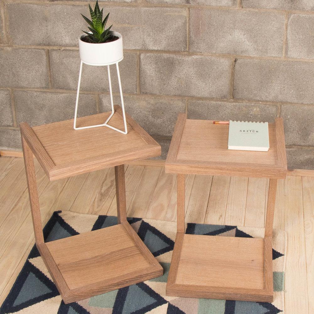 C-Tables in White Oak for Liz MacPhail