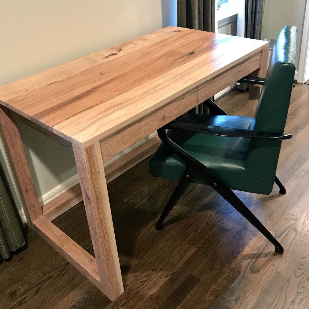 Pecan Desk for Avery Cox Design
