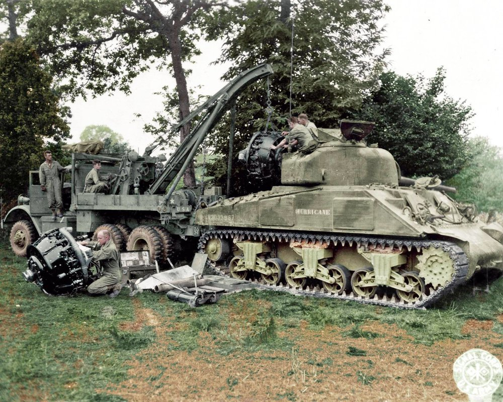 M4 Sherman ''HURRICANE'' ( USA # 3033967), 'H' CO, 66th ARM RGT.