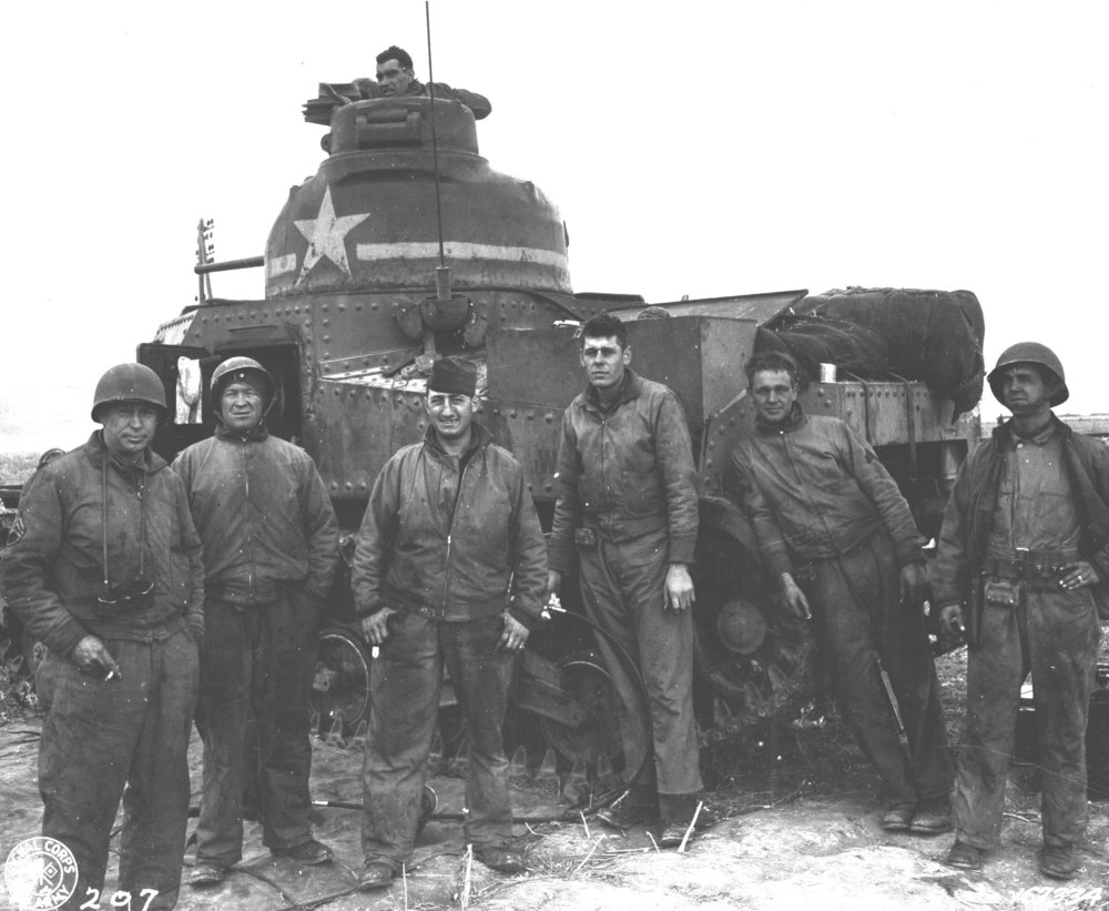 M3 Lee U.S.A. # W-309490, D Company, 2/13 Armored Regiment, 1st Armored Division. Souk el Arba, Tunisia, 23 Nov 1942.