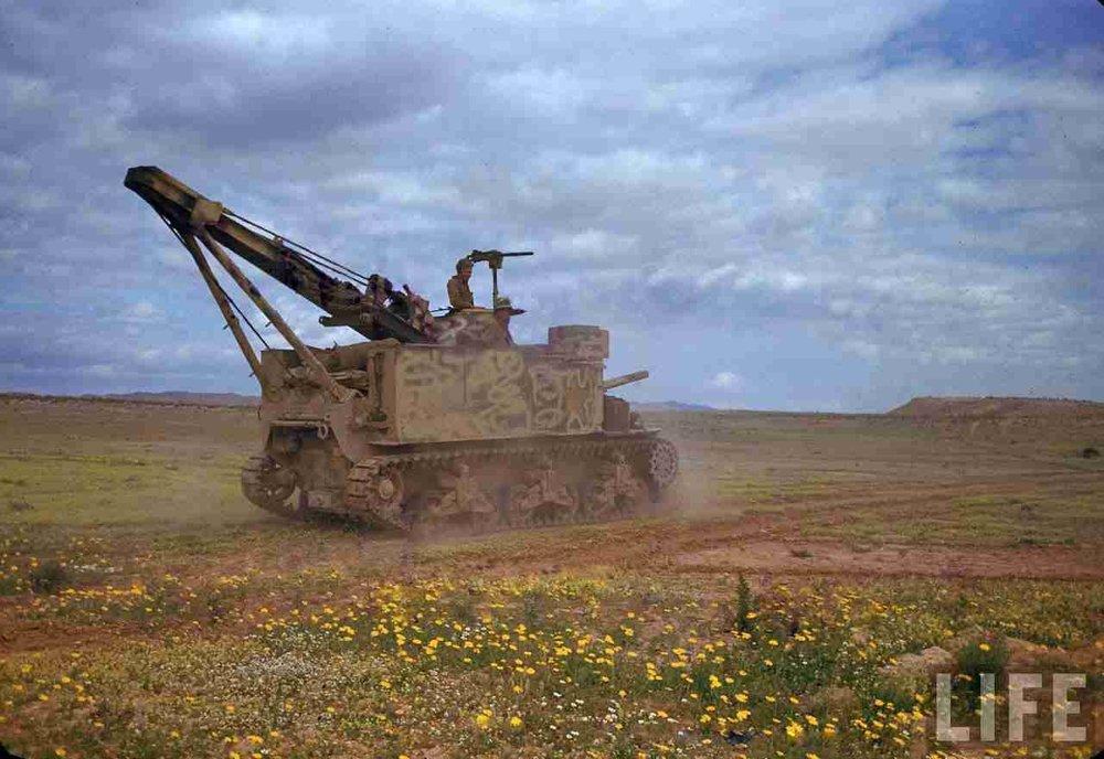 M-31 in the El Guettar valley, Tunisia,1943.