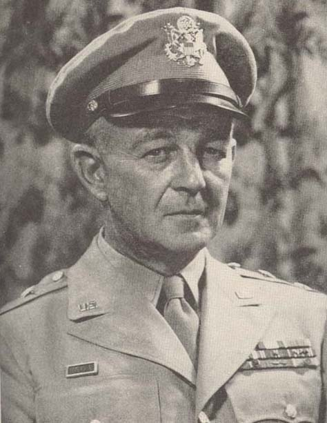 Major General Hugh Gaffey.   5 May 1943 – 17 March 1944.   He was sent to Morocco in North Africa to command Combat Command 'B' (CCB) of the 2nd Armored Division. He later served as chief of staff of the II Corps, then fighting in Tunisia, under the command of Lieutenant General George S. Patton, Jr.