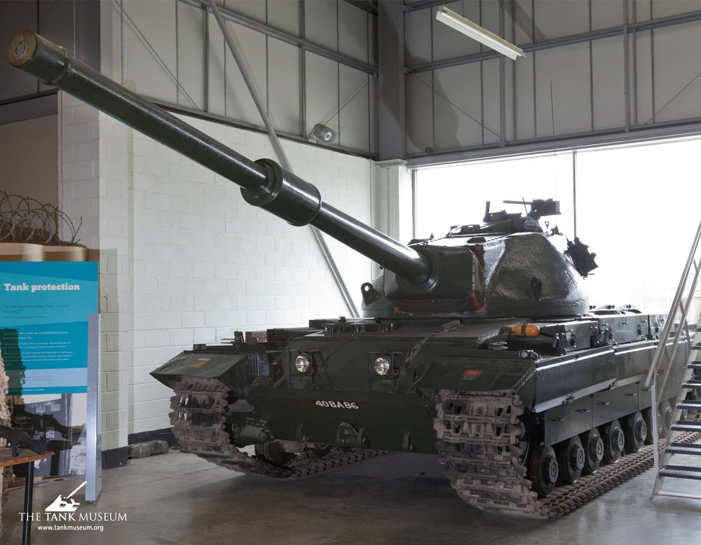 Conqueror MK.I at The Tank Museum, Bovington.