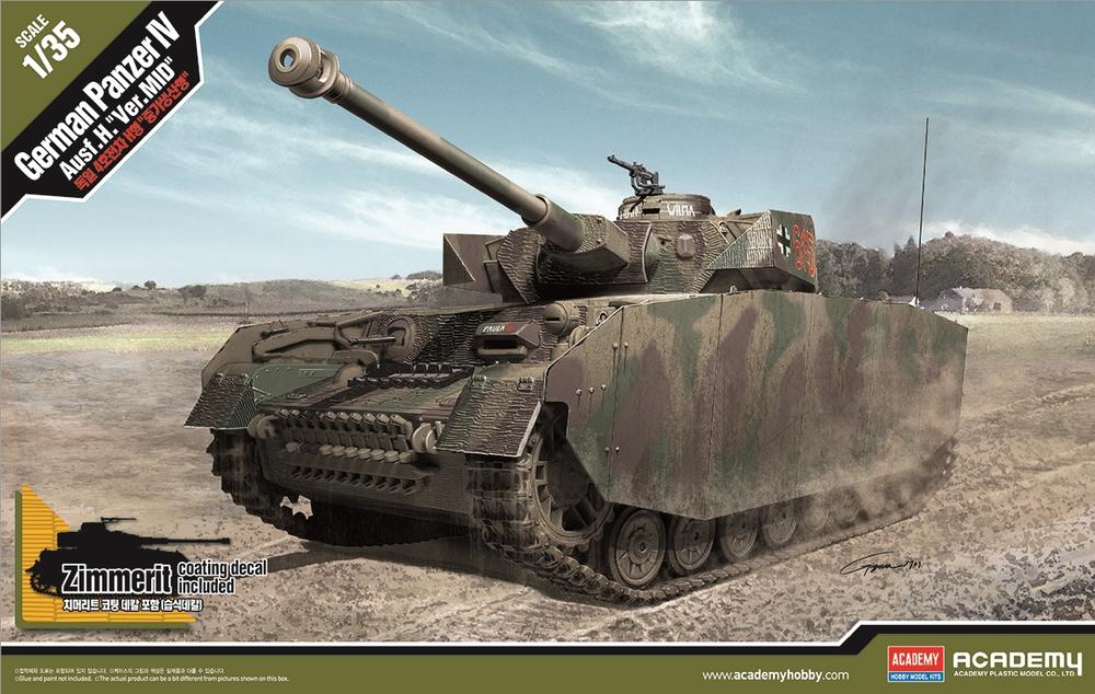 ACADEMY KIT # 13516 1-35 German Pz.Kpfw.IV Ausf.H ''Ver. MID''.png