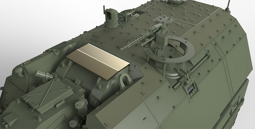 Turret Machine Gun Option 1 (German MG3)